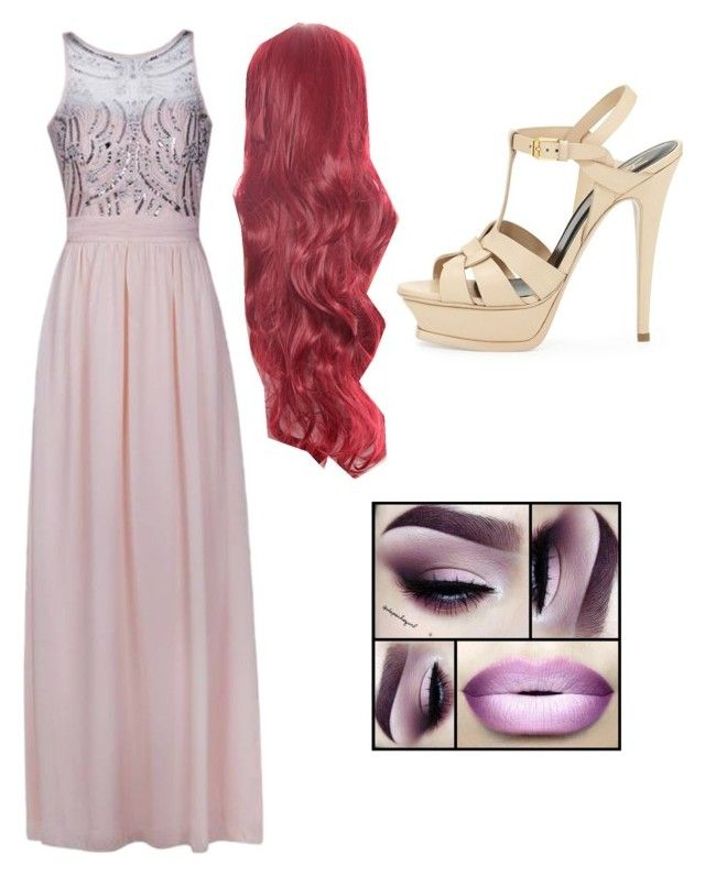 """Megara"" by jennabreske ❤ liked on Polyvore featuring Ally Fashion and Yves Saint Laurent"