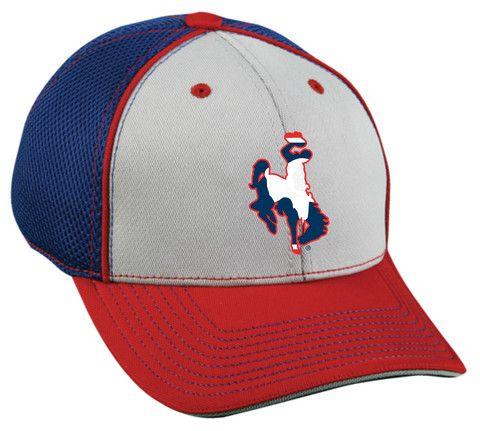 H031 WY State Flag Bucking Horse Hat | Wyoming Stuff | Hats, Hats