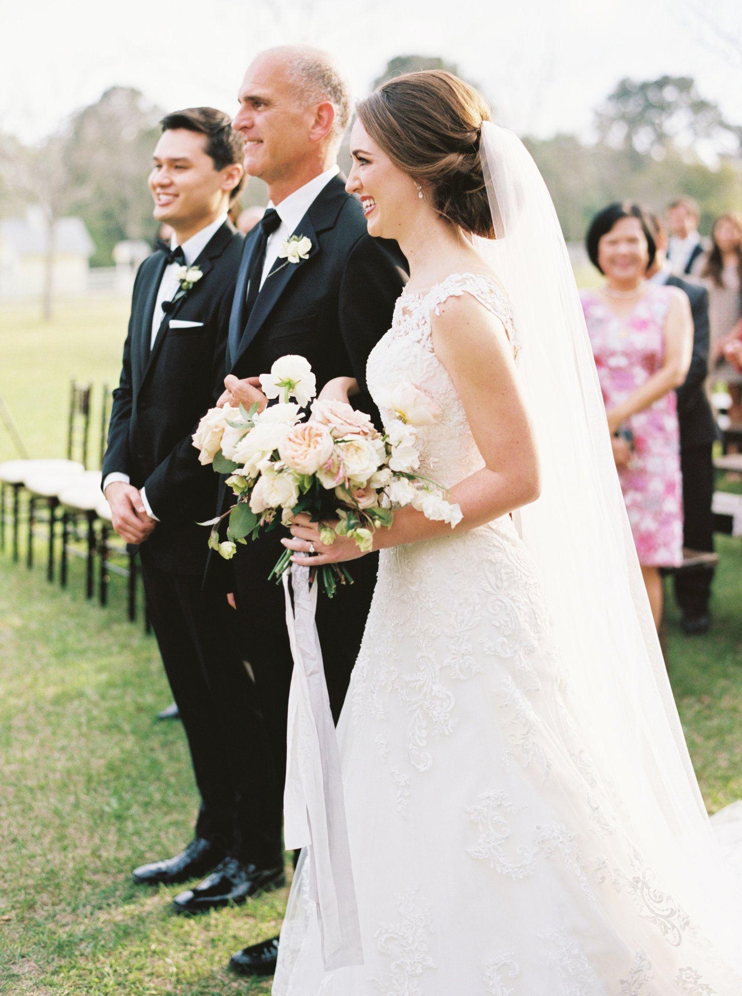 Maxit Flower Design Bridal Bouquet White Blush Texture