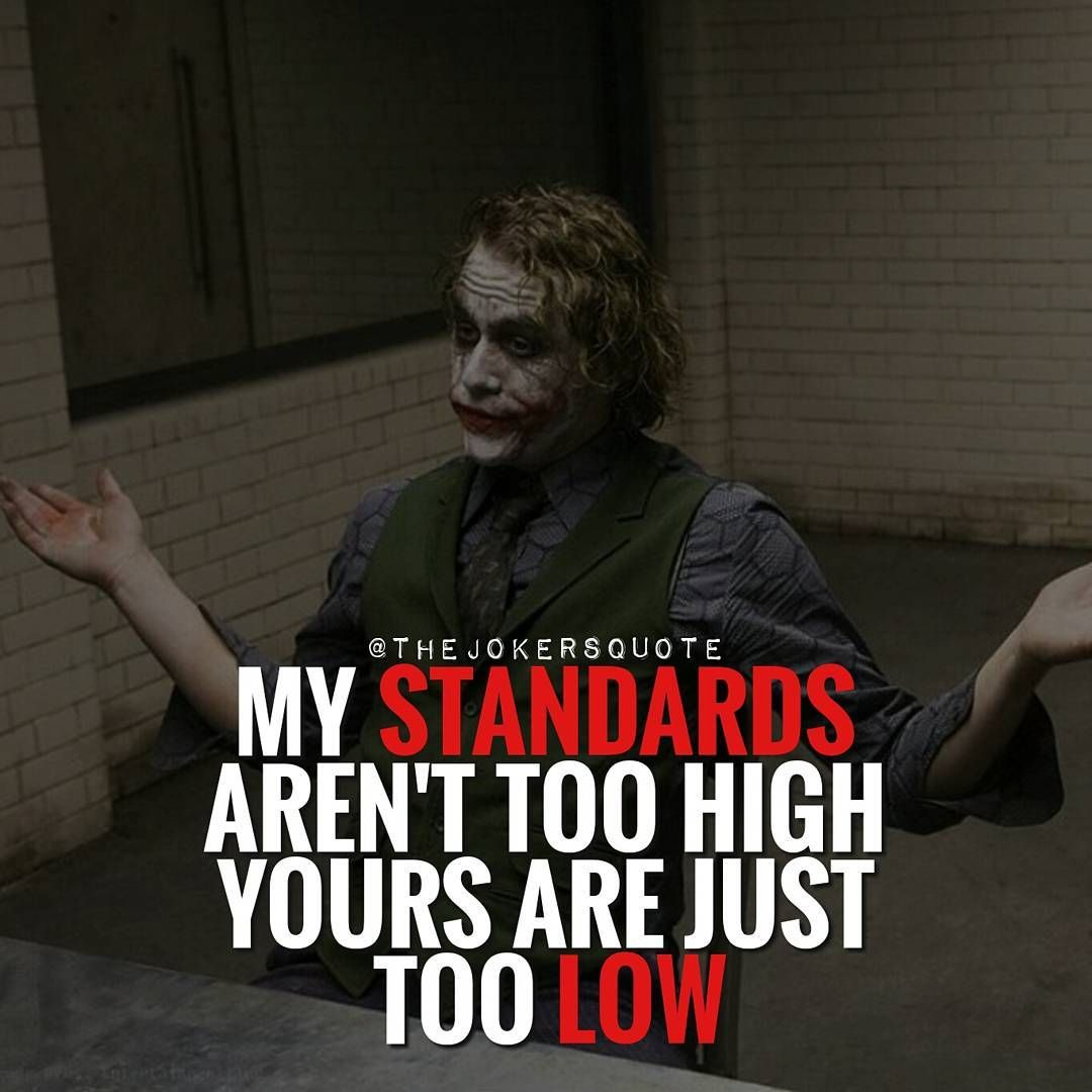 Wow I Actually Really Love Joker Quotes