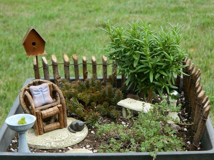 Deko bastelideen reizvollen mini garten kreieren garten pinterest - Garten bastelideen ...