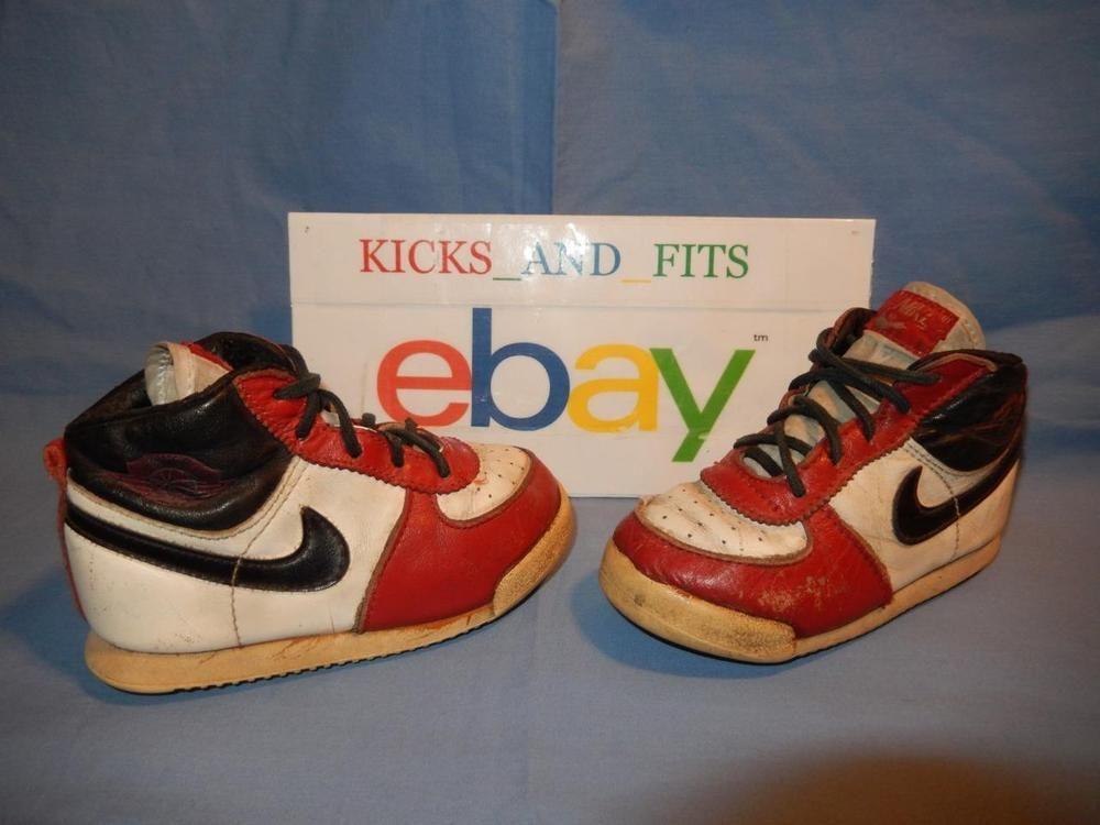 photos officielles 11c99 0145a VTG OG 1985 Nike Jordan 1 Chicago Infant Shoes size 6 rare ...