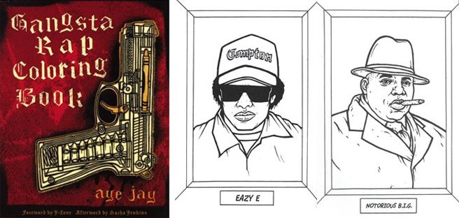 - Gangsta Rap Coloring Book - On My Christmas Wish List! Cat Coloring Book,  Kids Coloring Books, Coloring Books