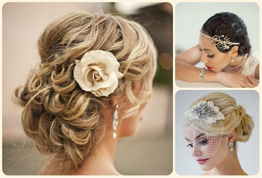 Hairstyles For A Summer Wedding : Bridal updo hairstyles for summer weddings