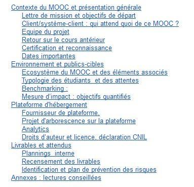 Cahier Des Charges D Un Mooc Https Docs Google Com Document D 1rorhtvkayvgxql2ipiafxga3863hwpkw0cbs8cu2bns Pub Public Cible Dates Importantes Ecosysteme