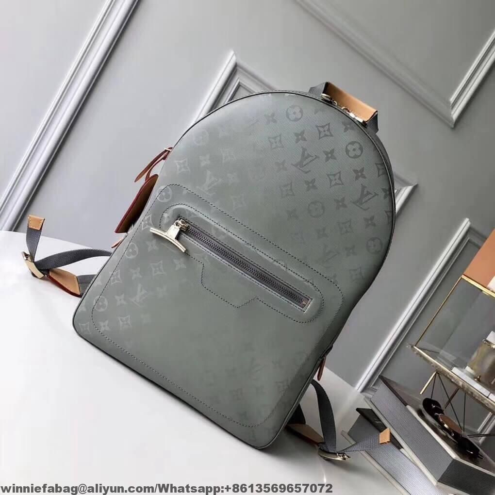 276de07f903 Louis Vuitton Monogram Titanium Canvas Backpack PM Bag M43882 2018 ...