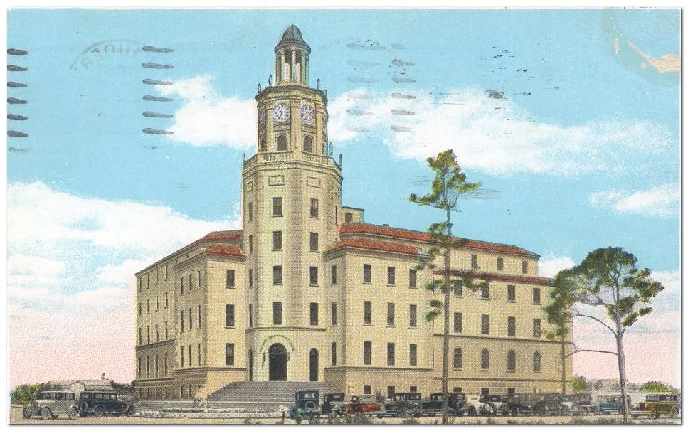 Postcard View Of The Historic Broward County Courthouse Jared