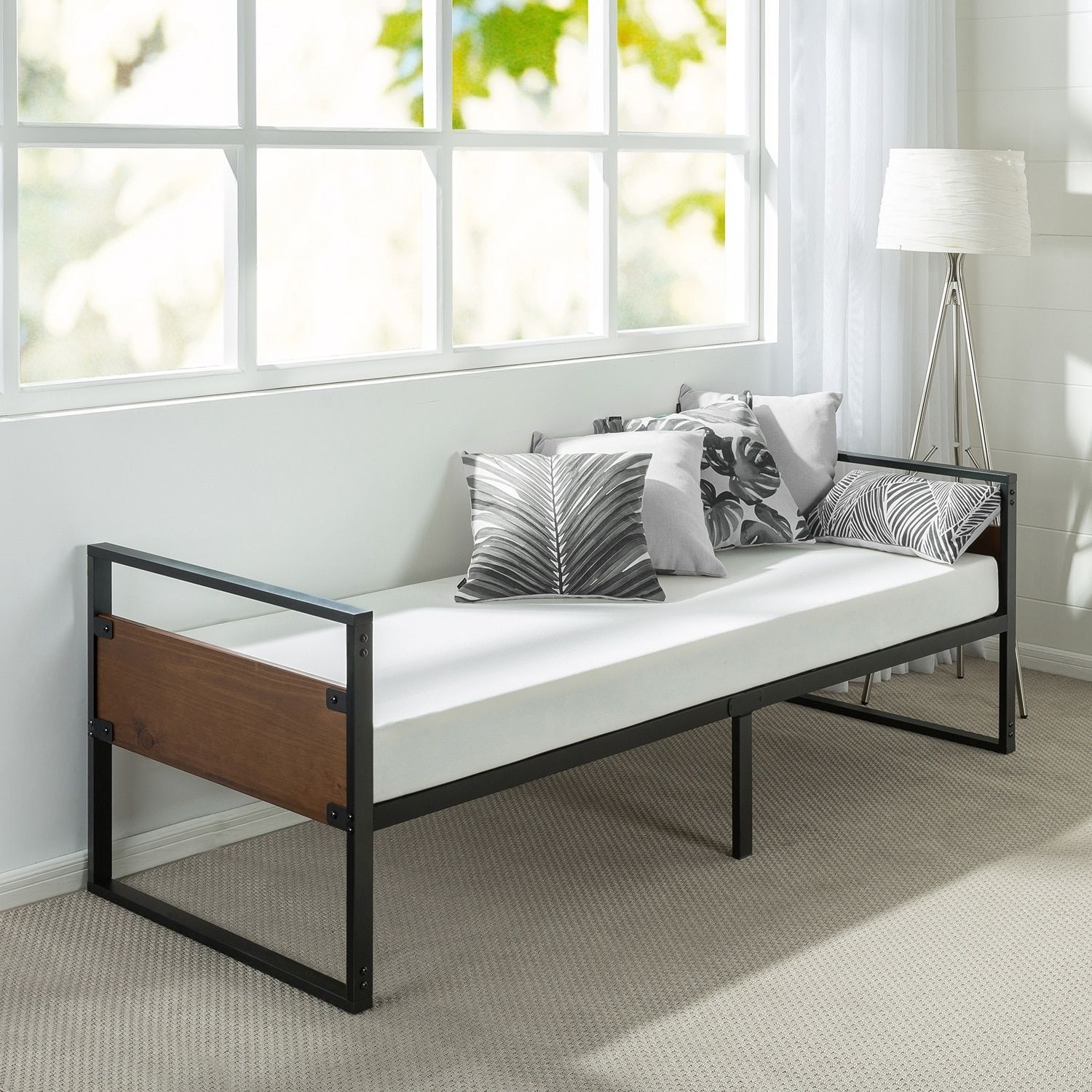 Priage By Zinus Ironline 30 Inch Narrow Size Day Bed Frame