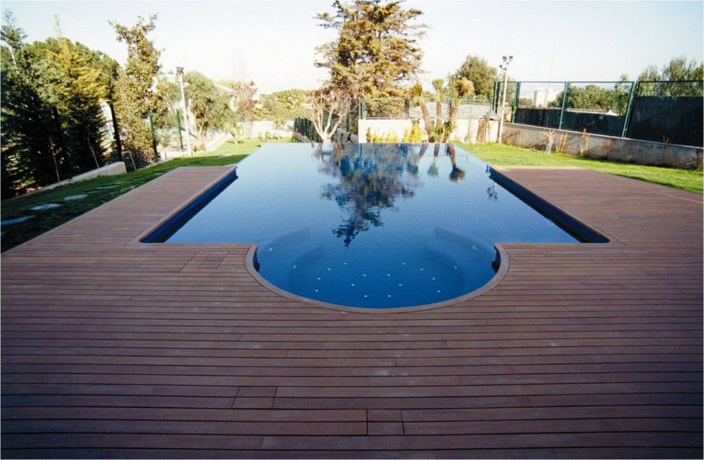 Exterior: Affordable Deck Design Ideas For Above Ground Pools Above Ground  Pool Deck Ideas And Swimming Pool In Backyard For Your Family Or Best  Friend From ...