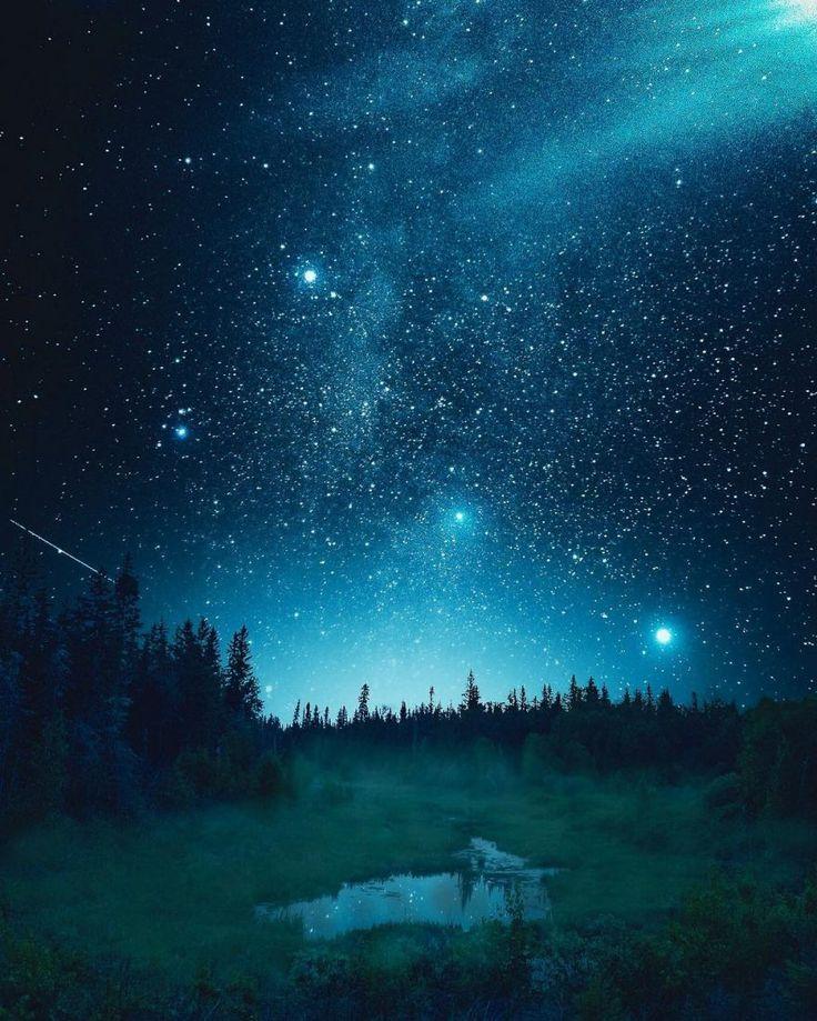 Incredible Night Landscape Photography By Andre Brandt Manzara Fotografciligi Manzara Resimler