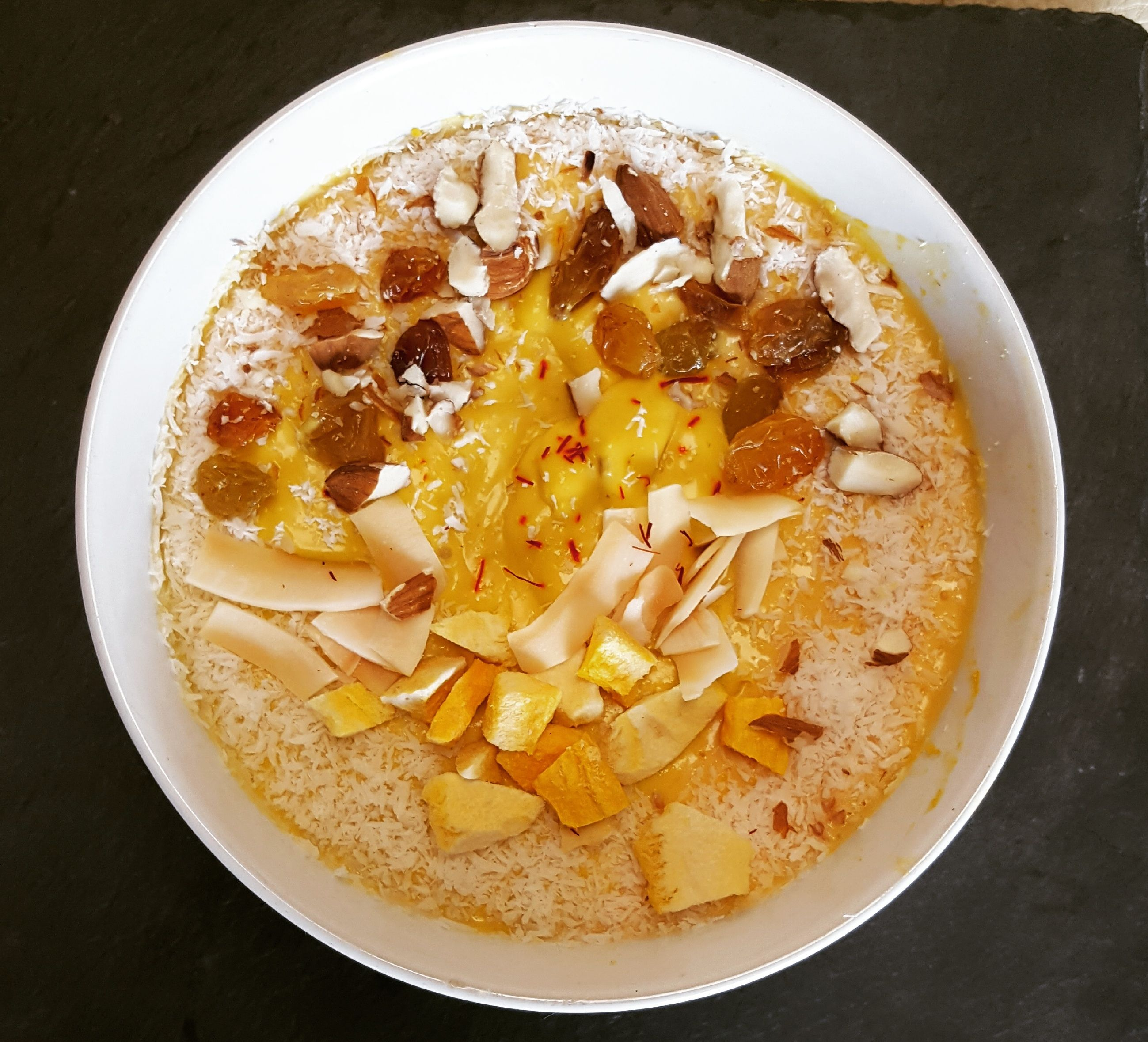 Mango Cardamom Smoothie (Aamras)