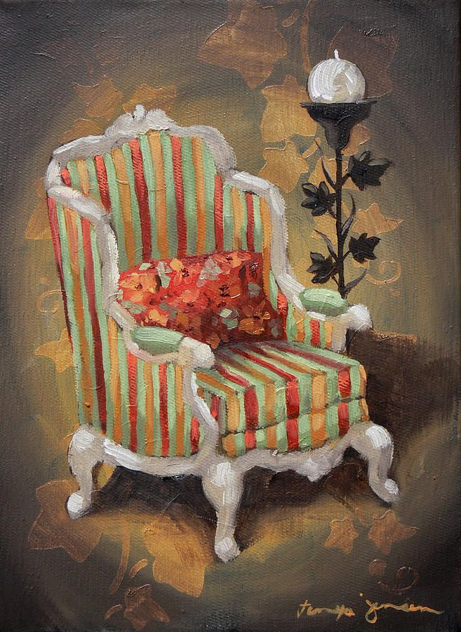 Whimsical chair no1 canvas print canvas art by tanya jansen whimsical art whimsical chair no1 painting whimsical chair no1 fine art print thecheapjerseys Images