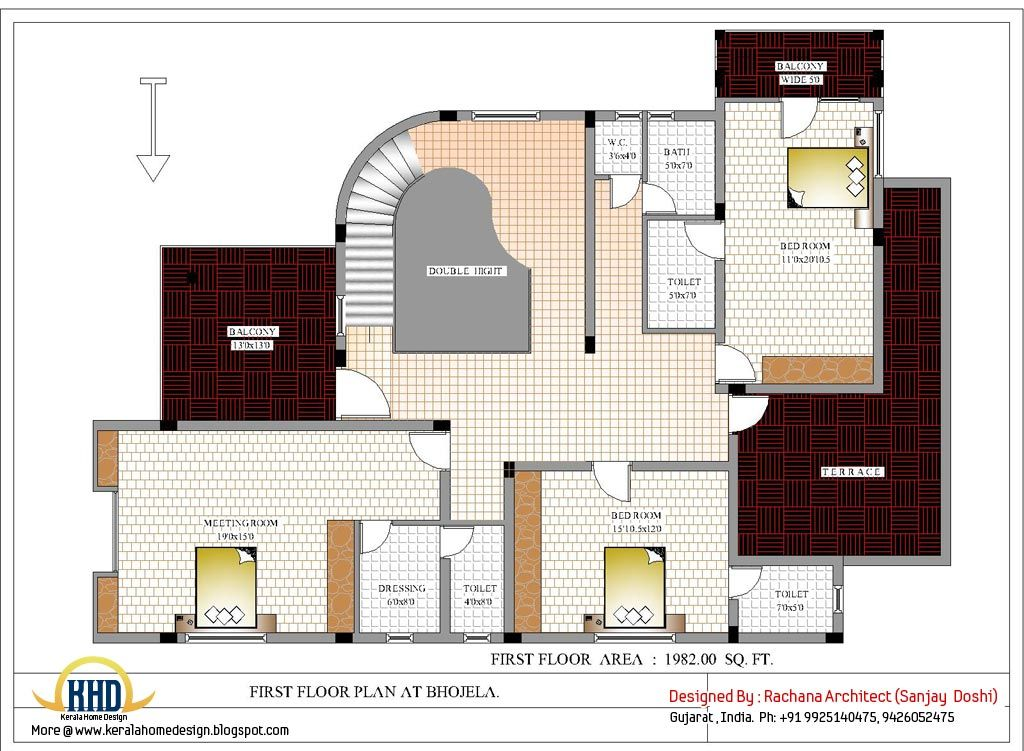 House Plans India House Floor Plans Architectural House Plans Small House Design Architecture