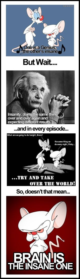 Pinky And The Brain Have Finally Reached Their Breaking Point