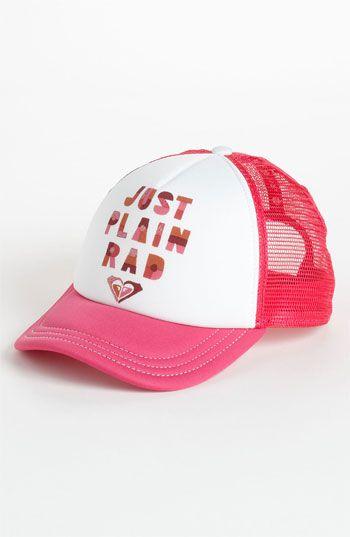 a7f61ba521a Roxy  Splashin  Baseball Cap (Girls)
