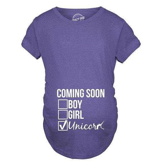 f5f3d7e5aec22 Unicorn Maternity Shirt, Unicorn Mom Shirt, Pregnant Shirt, Baby  Announcement Shirt, Cute Maternity