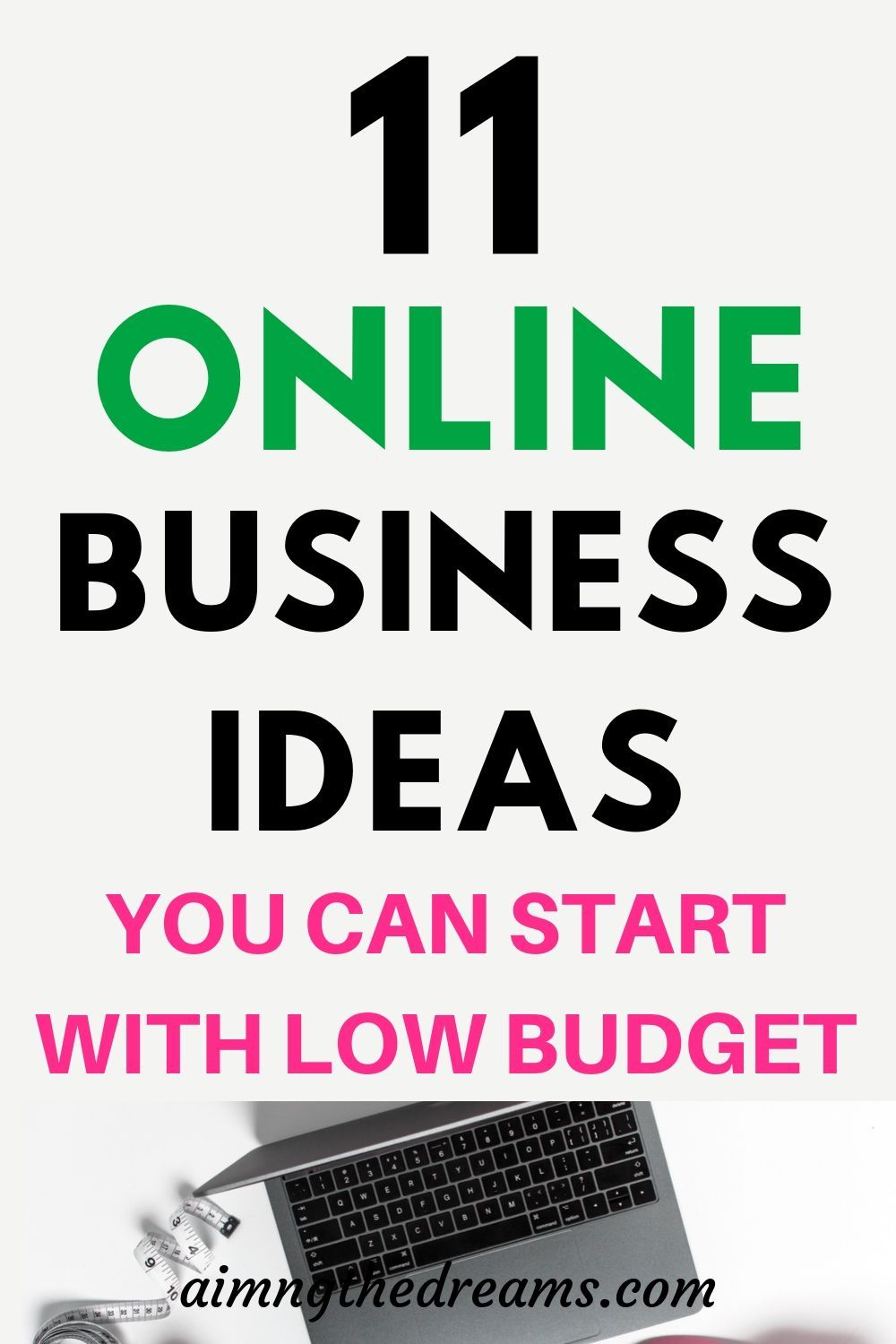 11 online businesses you can actually start with no money