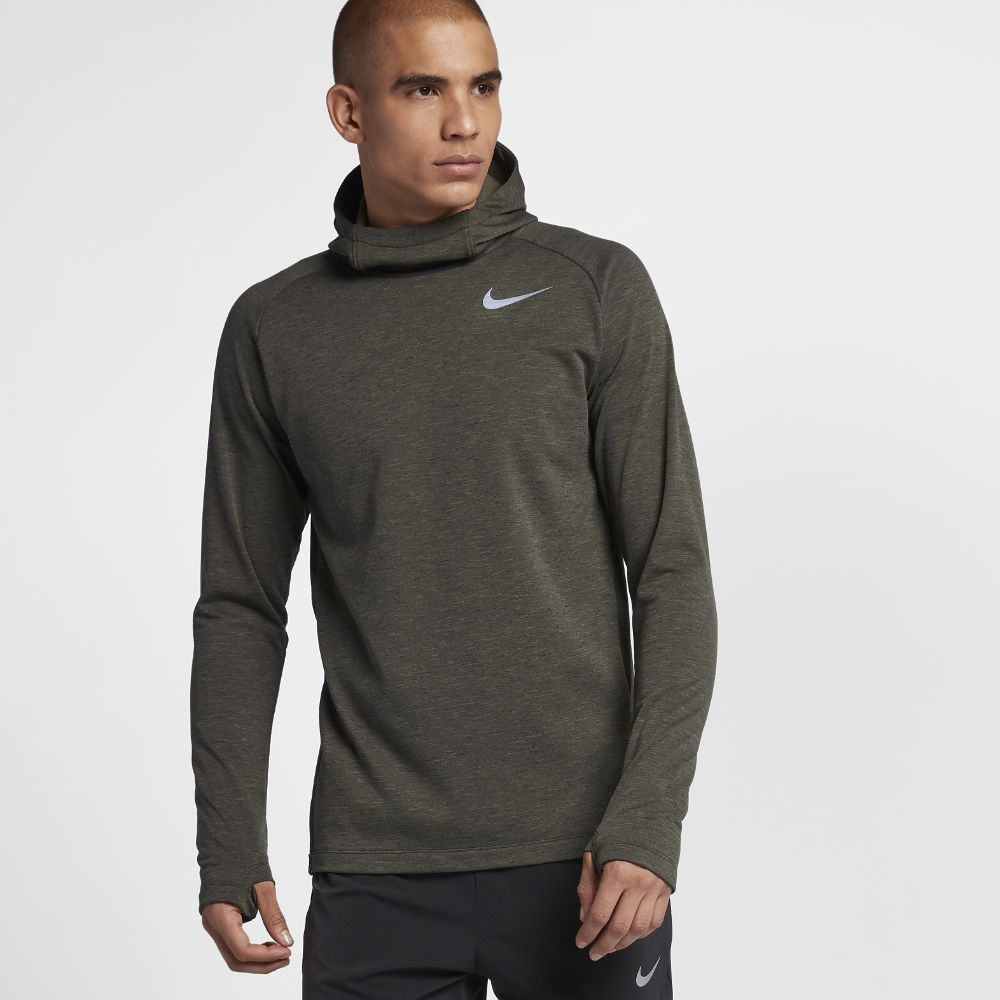 85635ec003bd Nike Element Men s Long Sleeve Running Top Size XL (Olive ...