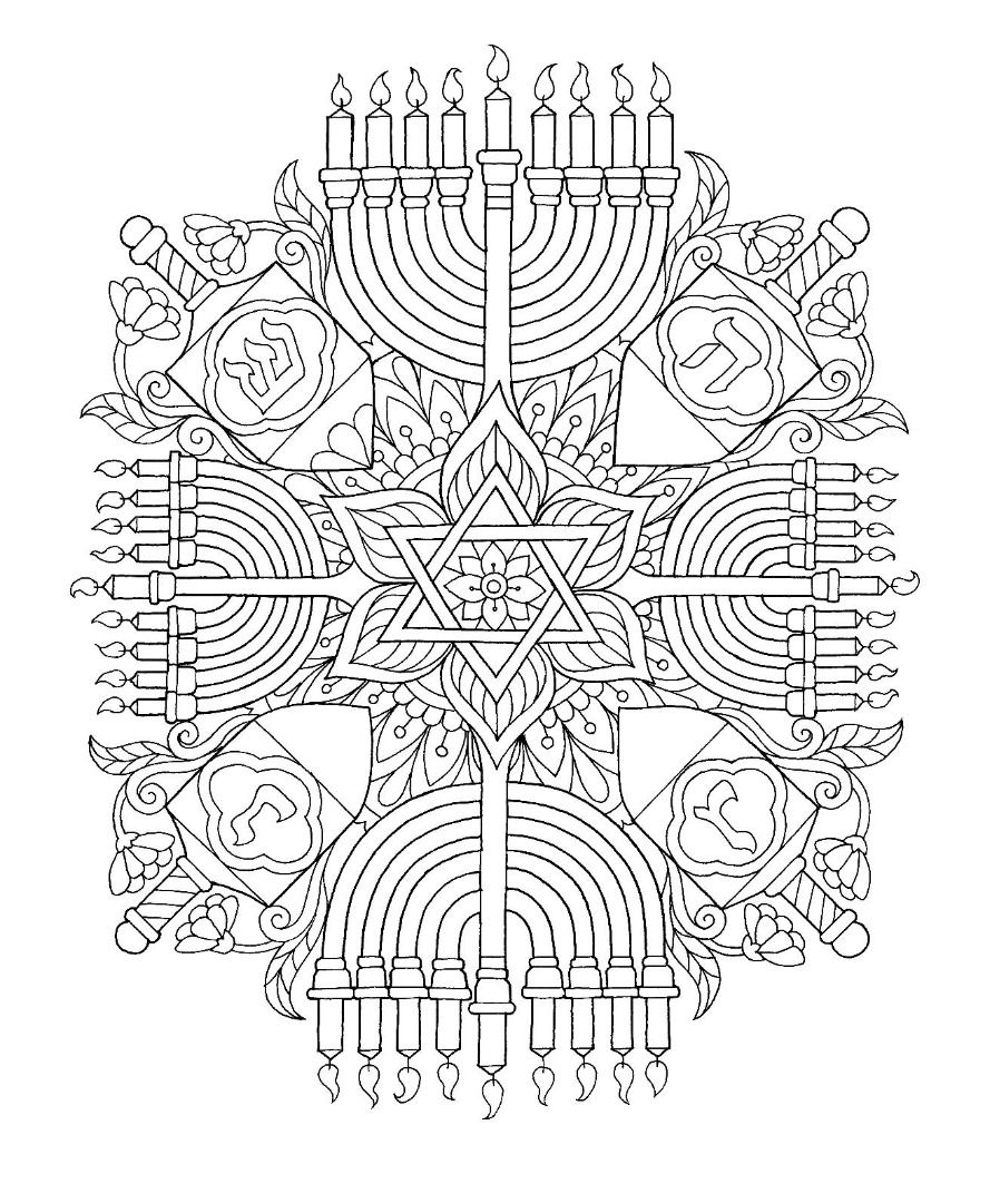 Hanukkah Coloring Pages Jewish Crafts Hanukkah Crafts Coloring
