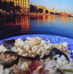 Tiella barese di patate riso e cozze #italianfood #recipes