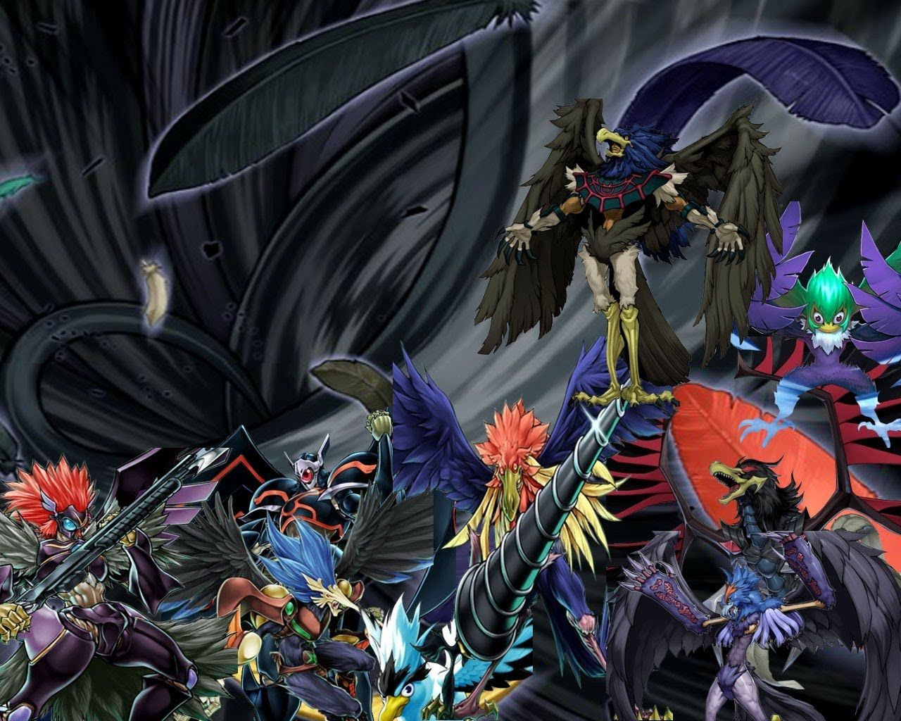 He Runs The Blackwings And Here They Are Description From Neosforce4727 Deviantart Com I Searched For This On Bing Com Images Yugioh Dragon Wings Card Art