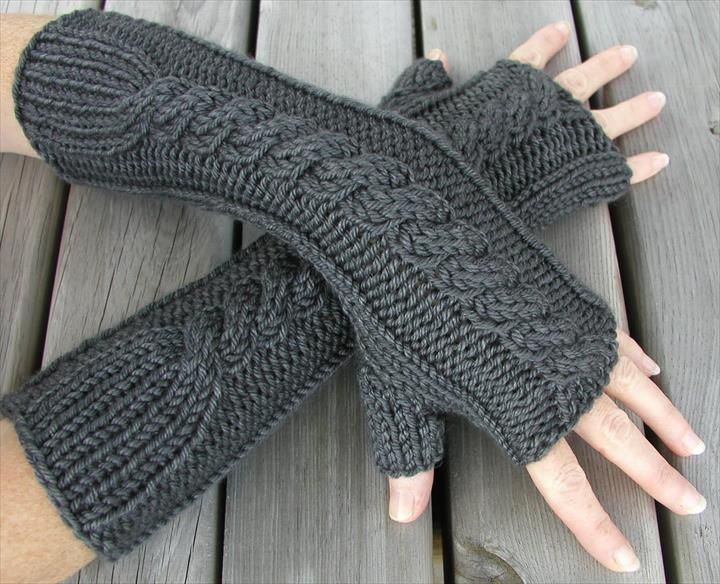 48 Marvelous Crochet Fingerless Gloves Pattern | Pinterest | Guantes ...