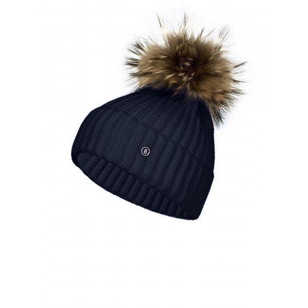 77818334d21 Bogner Leonie Womens Designer Ski Hat in Navy