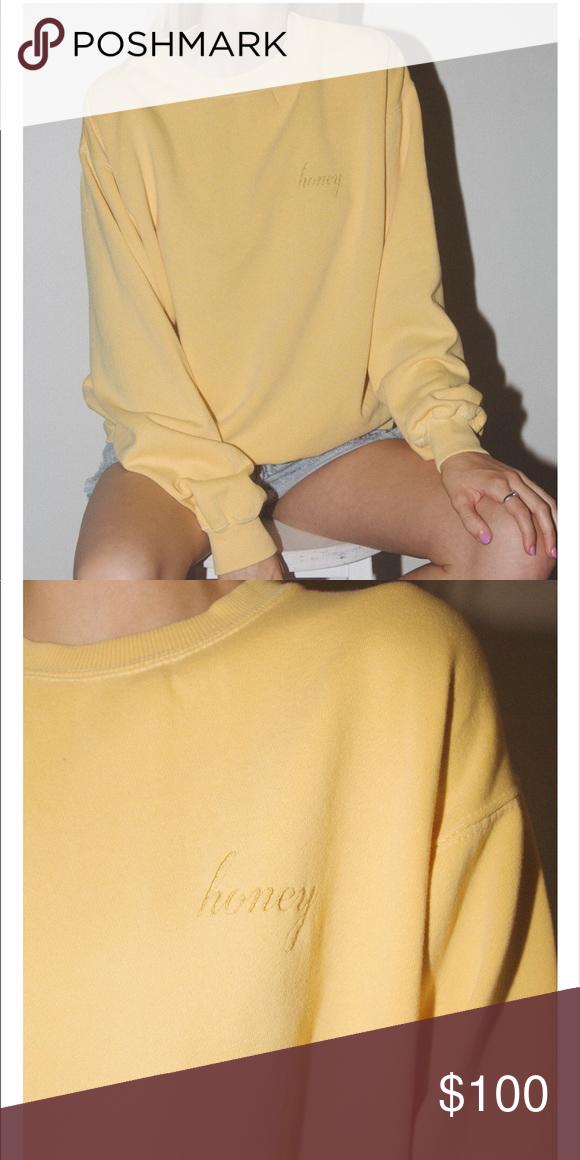 Iso Erica Honey Sweatshirt My Posh Picks Sweatshirts Brandy