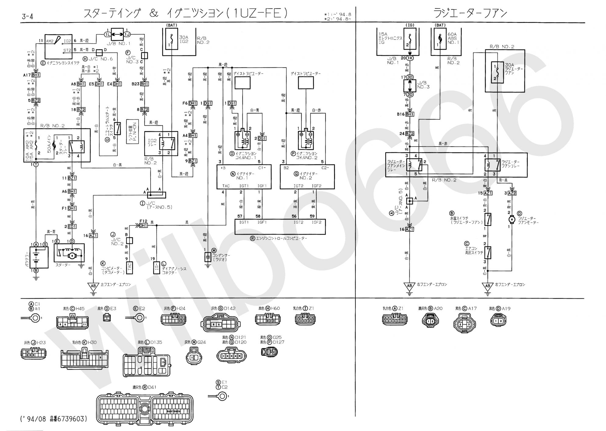 Toyota Hiace Fuse Box Diagram