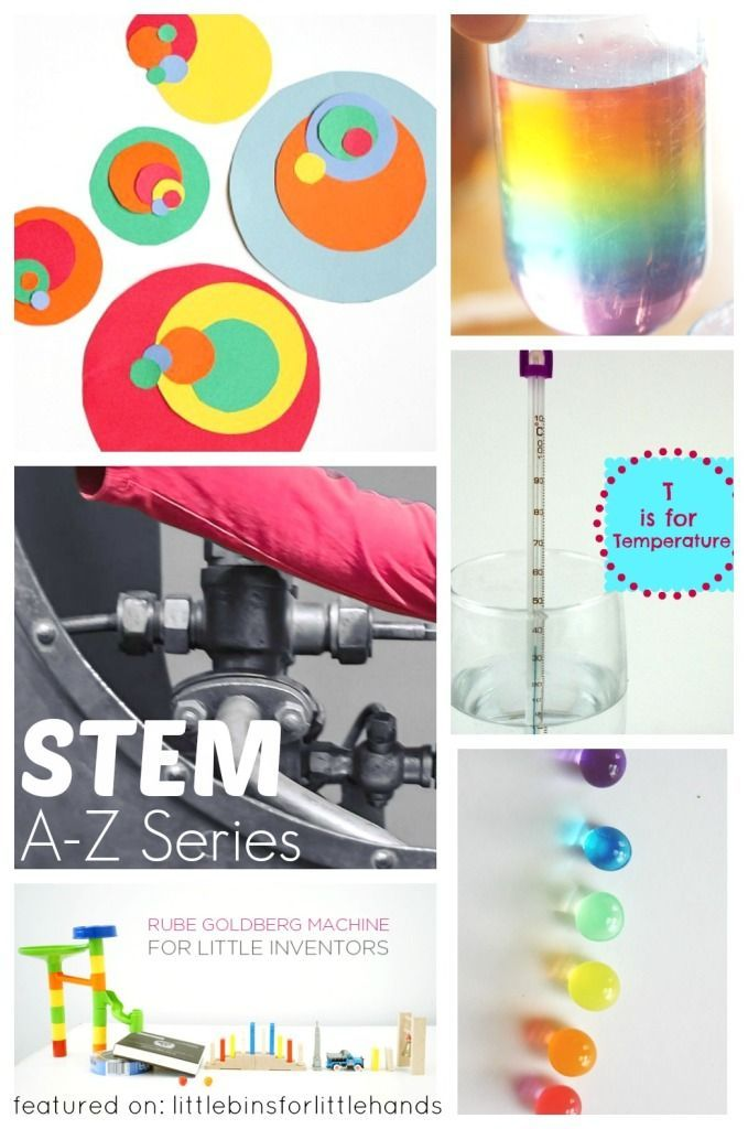The ultimate resource of kids STEM activities. The A-Z of kids STEM Activities at your finger tips. Science, Technology, Engineering, and Math ideas!