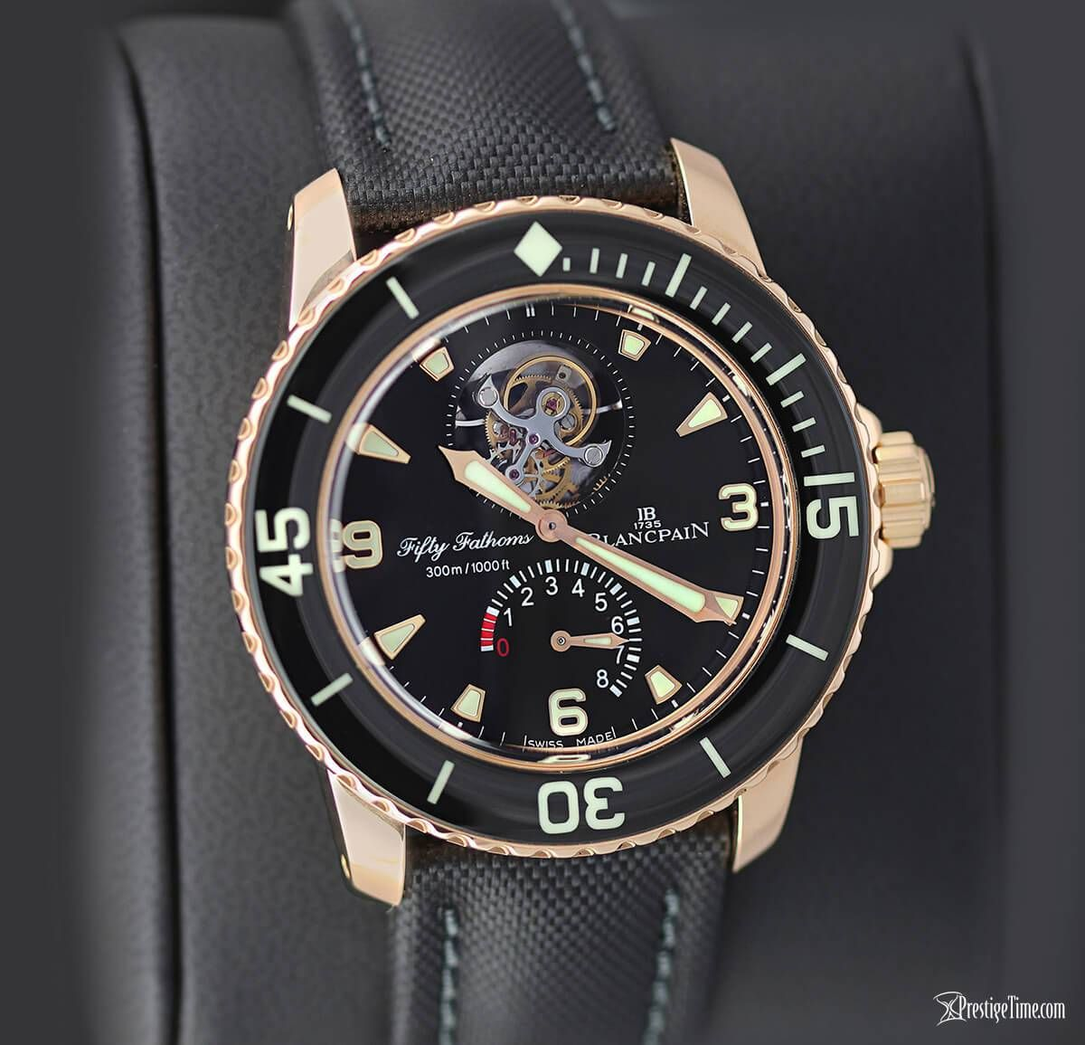 Blancpain Fifty Fathoms Tourbillon 8 Days Review Fifty Fathoms Blancpain Tourbillon