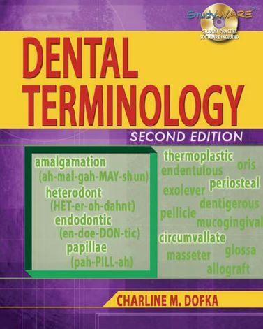 Dental Terminology 2nd Edition Dental Terminology Dental Dental Assistant Study
