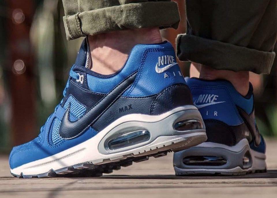 Nike Air Max Commande Bleu / Peinture Grise extrêmement à bas prix frais achats vente pas cher Gif8M
