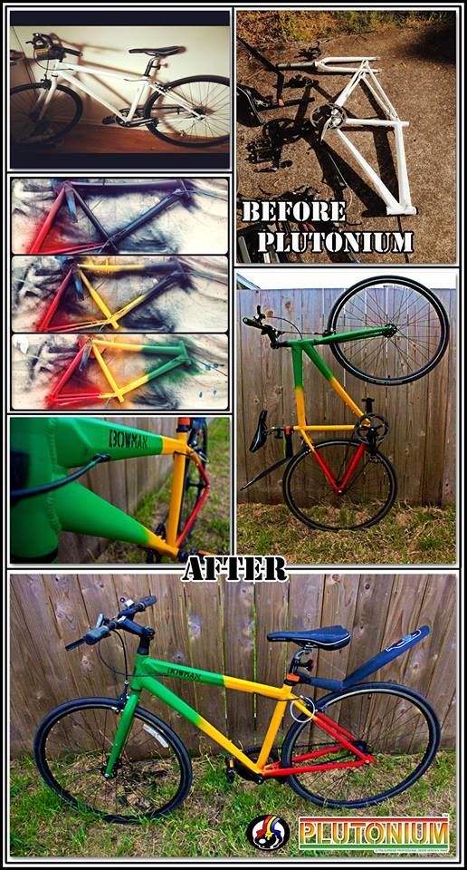 Wow Bicycle Frame Makeover By Jesse At Tommy S Paint Pot Eugene