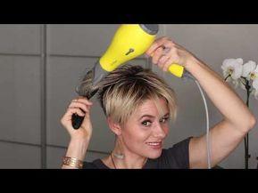 SHORT HAIR TUTORIAL    How To Create A