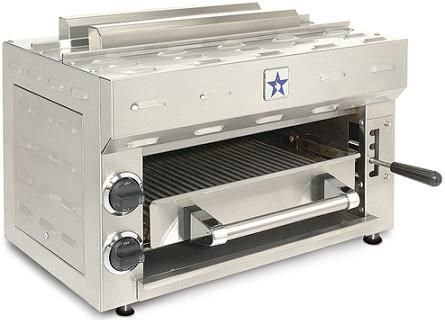 kitchen salamander hardware this broiler from bluestar brings commercial quality indoor grilling into your private the four position spring balanced adjustable