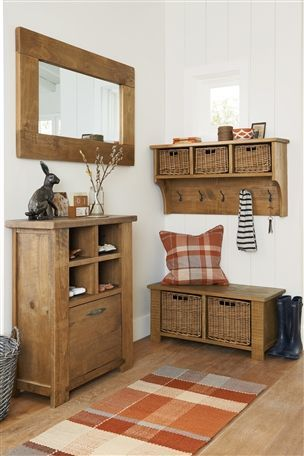Hartford Solid Pine Collection by Next Autumn colours are pretty