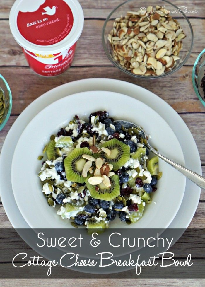 healthy breakfast ideas cottage cheese breakfast bowl cottage