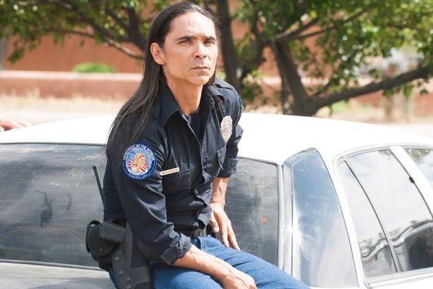 Tribal police.  [Longmire, Officer Mathias].