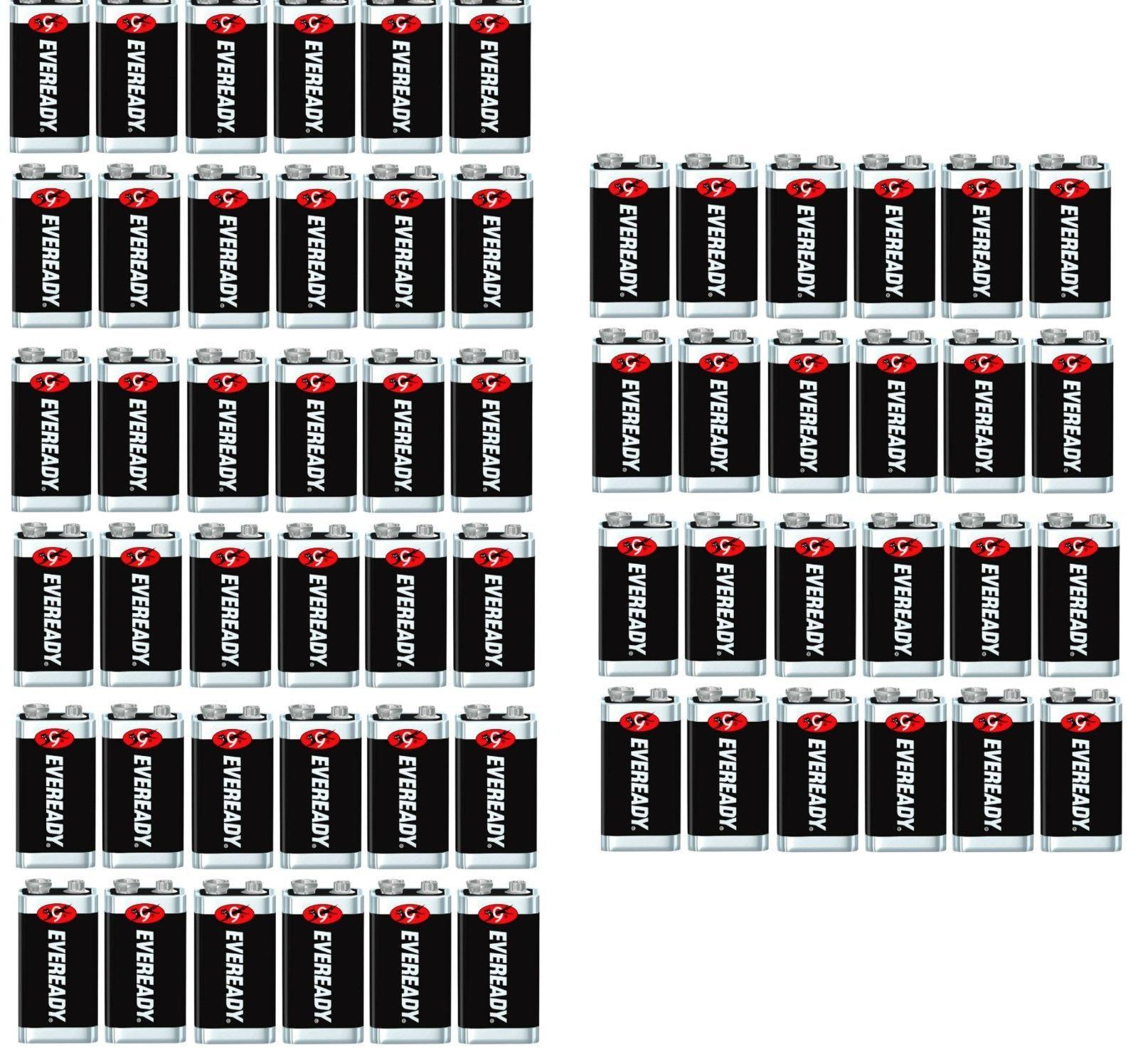 Eveready Super Heavy Duty Industrial 9 Volt 9v Batteries Lot Of 60 Brand New Ebay Link 9 Volt Battery Heavy Duty Batteries