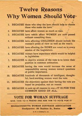 why women should vote jane addams