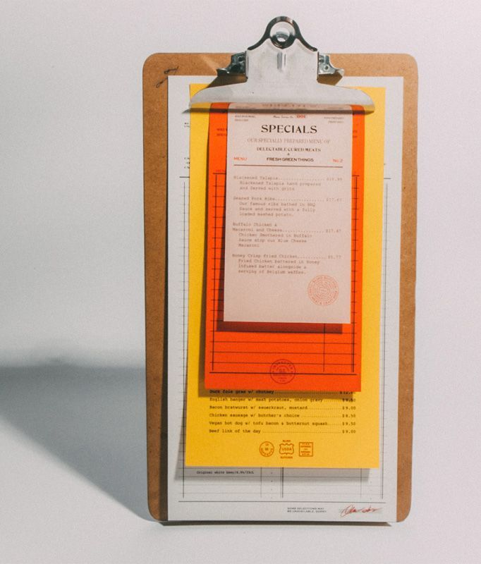 On the Creative Market Blog - 50 Restaurant Menu Designs That Look ...
