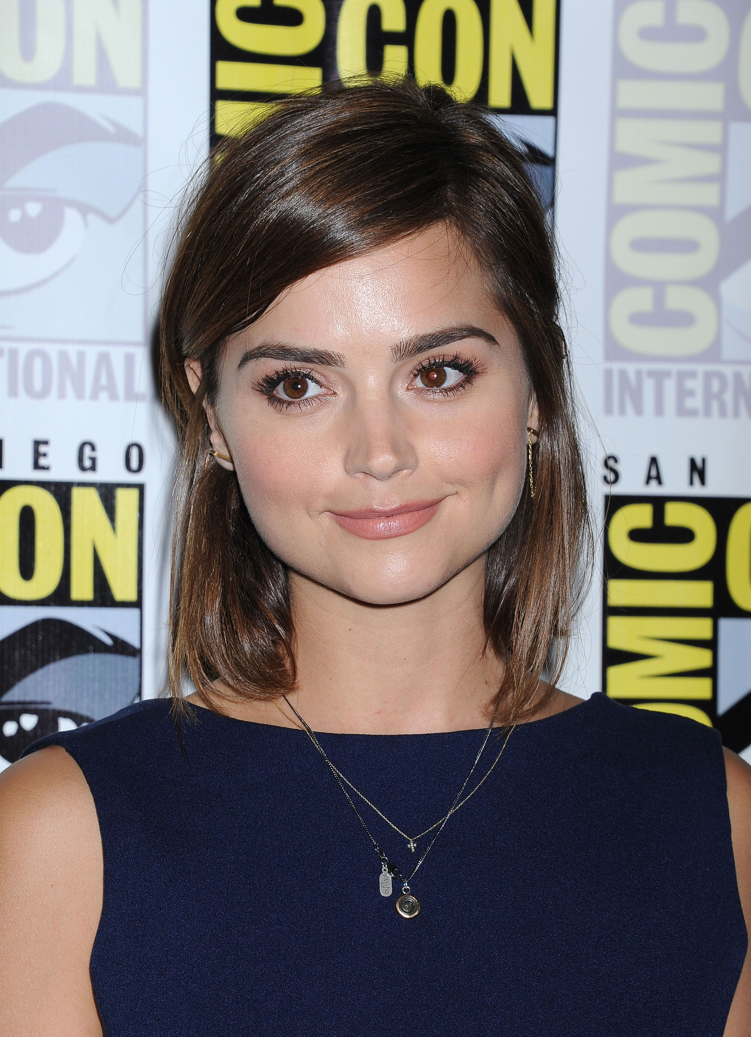 Jenna Coleman Attends The Bbc America Doctor Who Photo Call During