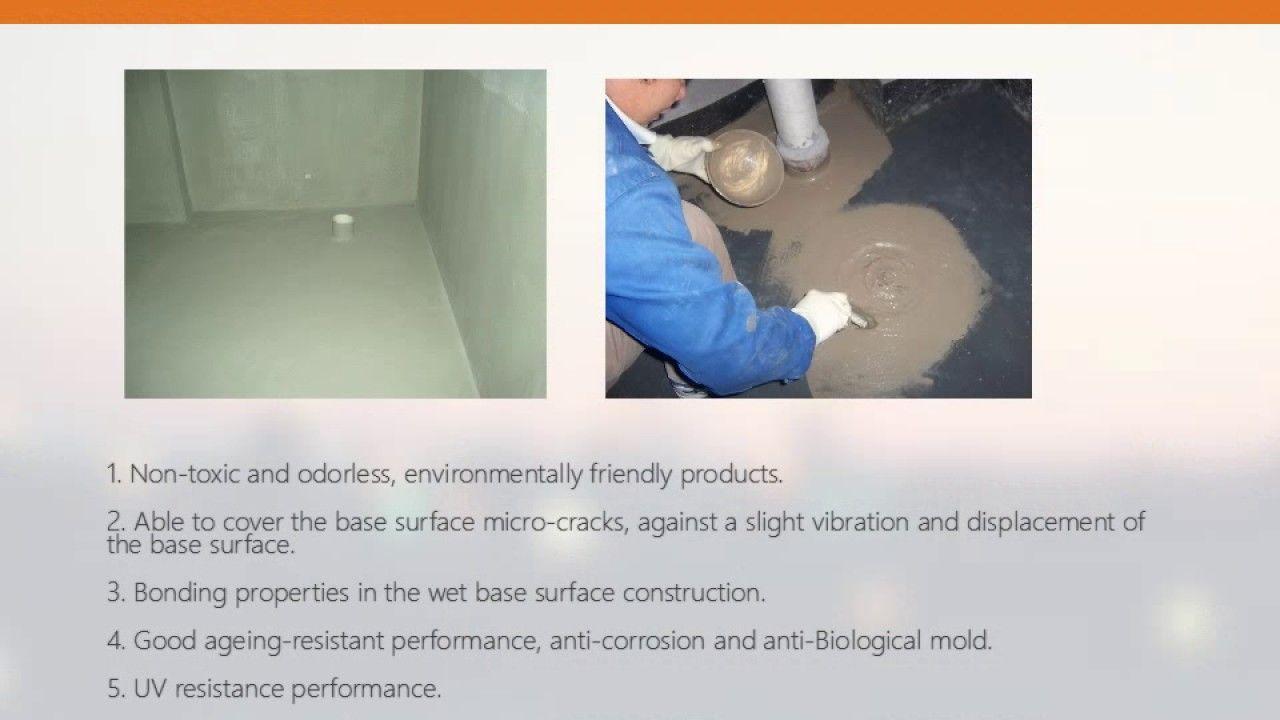 Dayu k11 flexible cement base waterproof coating