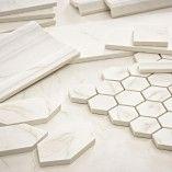 hex tile for shower floor, 12x24 for bathroom floor