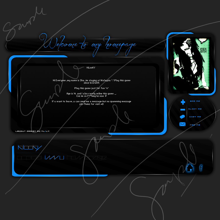 IMVU DIV LAYOUT | [Homepages] | Pinterest | Div layout