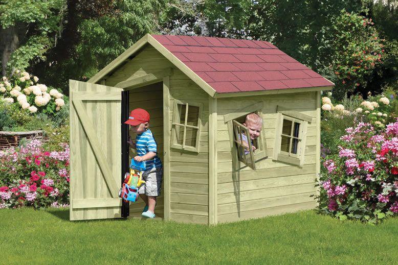 TÜV Kinderhaus CRAZY BASTIAN Gartenhaus Kinderspielhaus Holzhaus Spielhaus  In Garten U0026 Terrasse, Gartenbauten U0026 Sonnenschutz