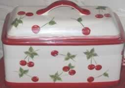 Bread Box Target Glamorous Cherries Bread Box I Have One Of These From Target A Couple Years Inspiration