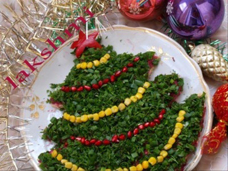 Как можно украсить салат_25 | Салаты, Сервировка блюд