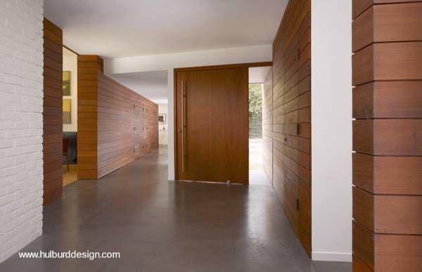 Paredes interiores revestidas de madera paredes de - Casas de madera interiores ...